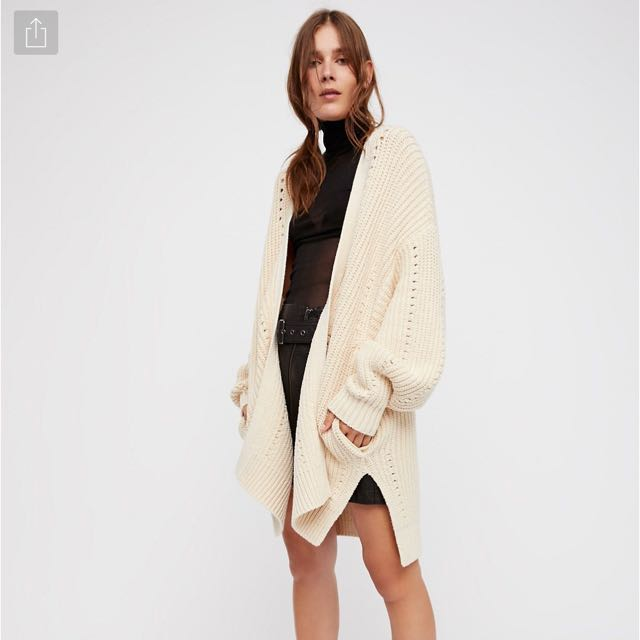 brand new free people cardigan