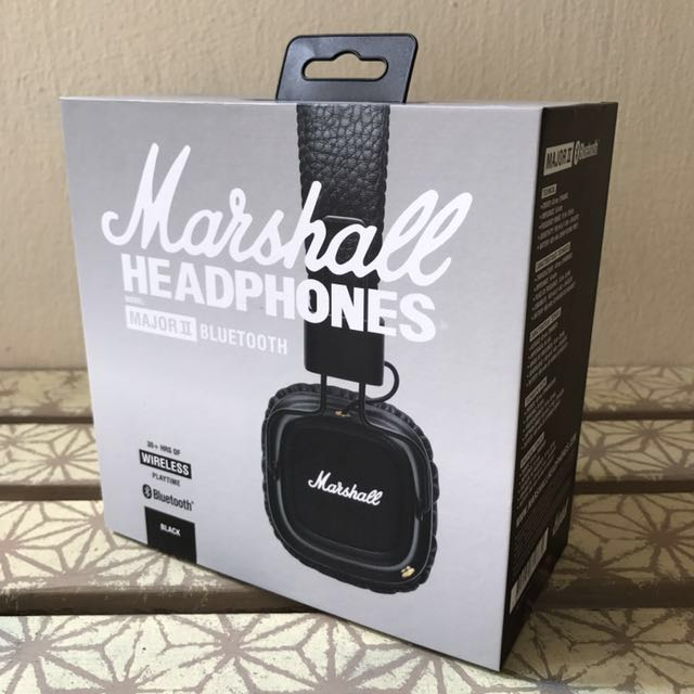 2581f7ca86c BRAND NEW: MARSHALL MAJOR 2 BLUETOOTH WIRELESS WITH MIC II IN SEALED ...