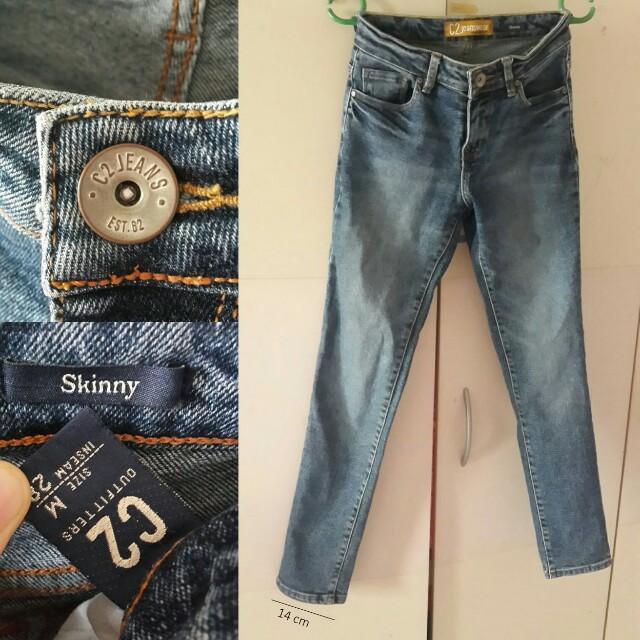 C2 blue jeans 28