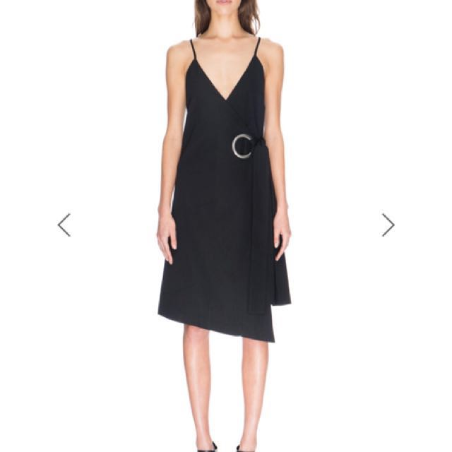 Cameo c/meo on the line wrap dress in Black size 10