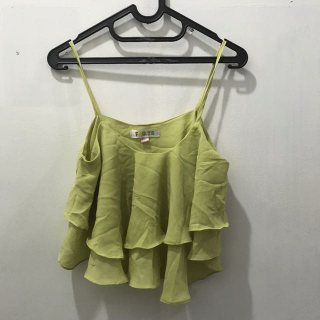 Candy Lime top