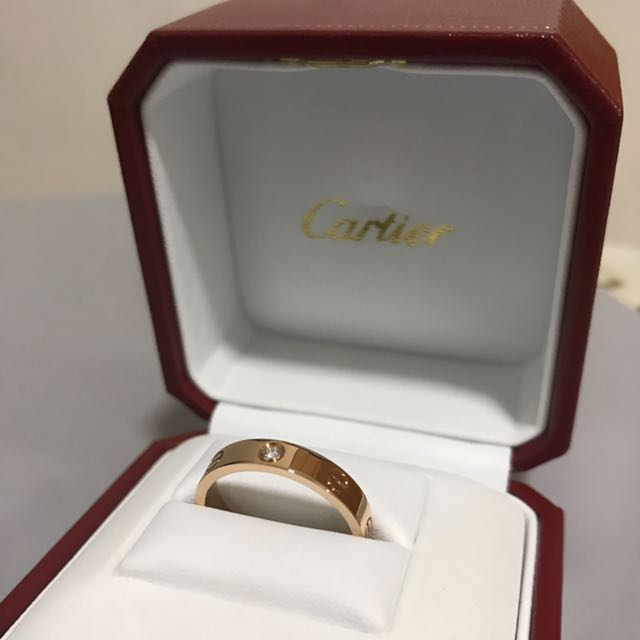 Cartier wedding band pink gold with diamond luxury accessories on photo photo junglespirit Image collections