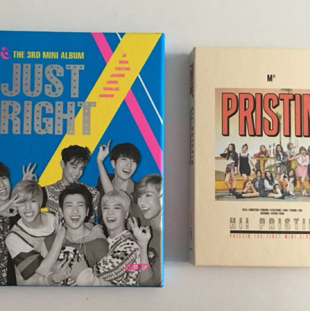 🛍CD's SALE *no PC* 🛍 (GOT7 and PRISTIN)