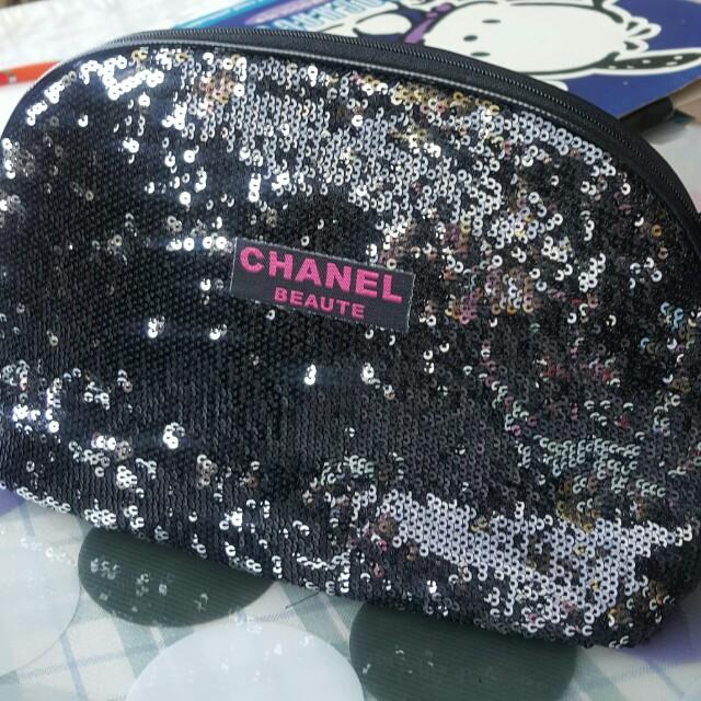 Chanel 時尚手提包,化妝包