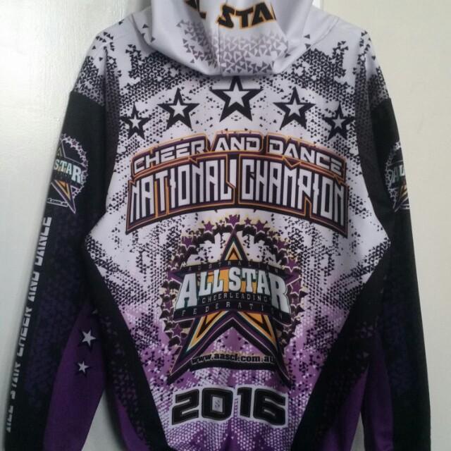 Cheerleading National Champion Jacket 2016