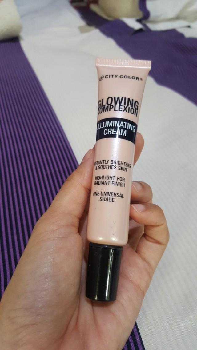 City Color Glowing Complexion Illuminating Cream (90%)