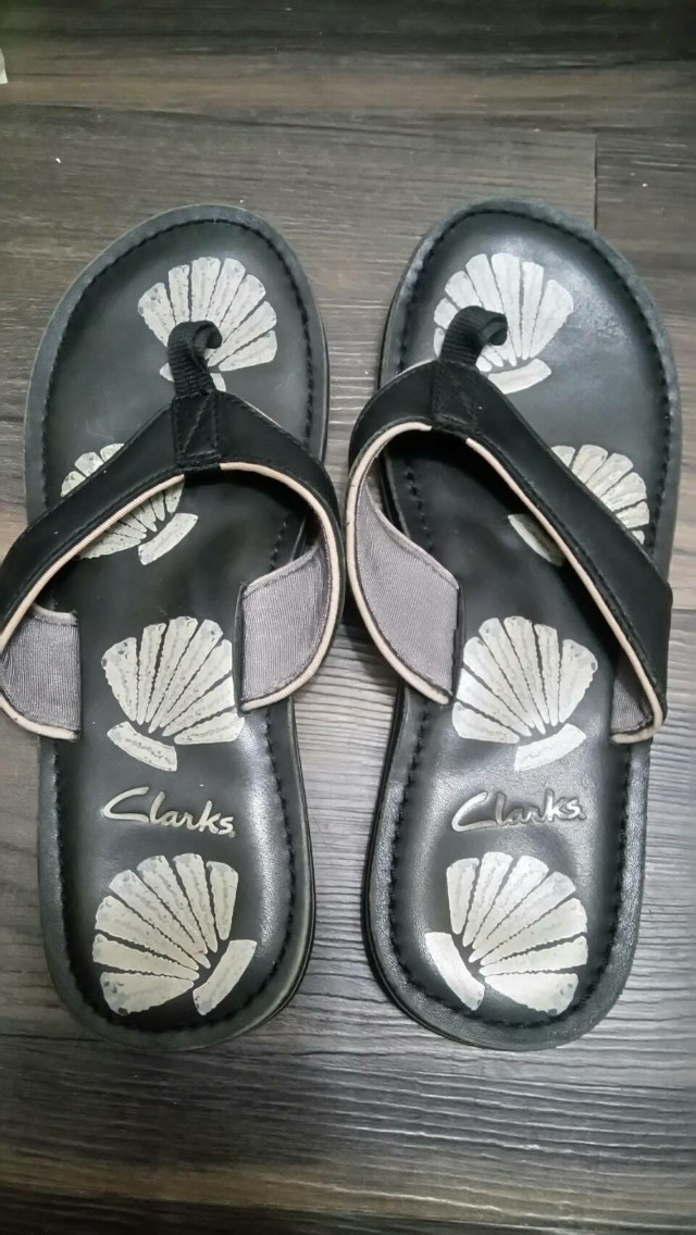Clarks 夾腳拖 十字拖 拖鞋