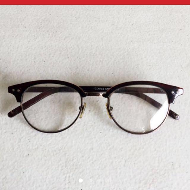 Clubmaster Eye Glasses