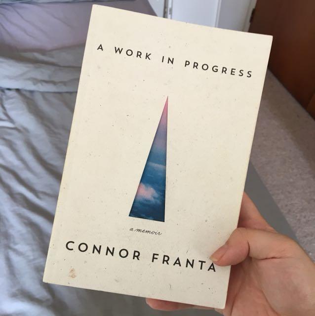 Connor Franta A Work In Progress