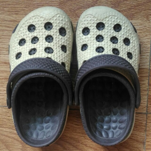Crocs-style Brown shoes