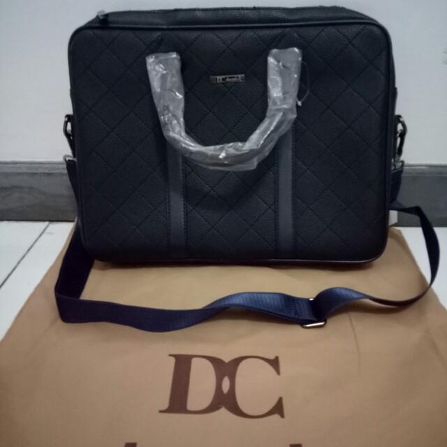 DC Decarlo Tas laptop / Tas Kerja
