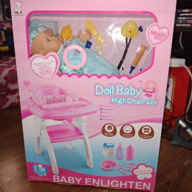 Doctor Baby Doll Highchair Set Es Kids Others On Carou