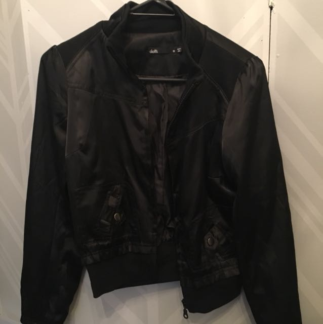 Dotti silk bomber jacket