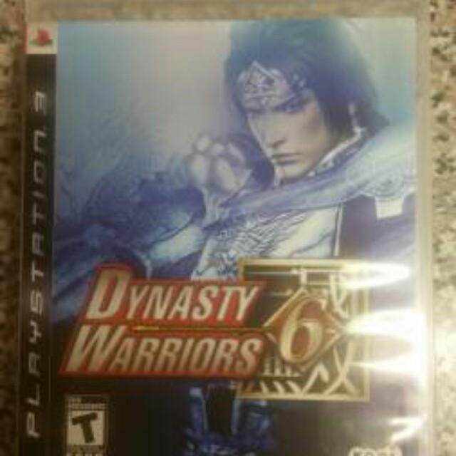 Dynasty Warriors 6 Sony Playstation PS3 Action Koei Video Game