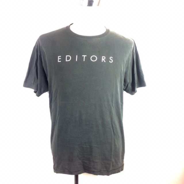 EDITORS New Wave Indie Rock Band T-Shirt