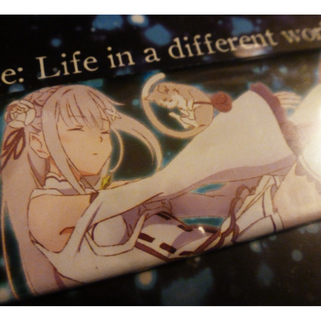 Emilia long can badge