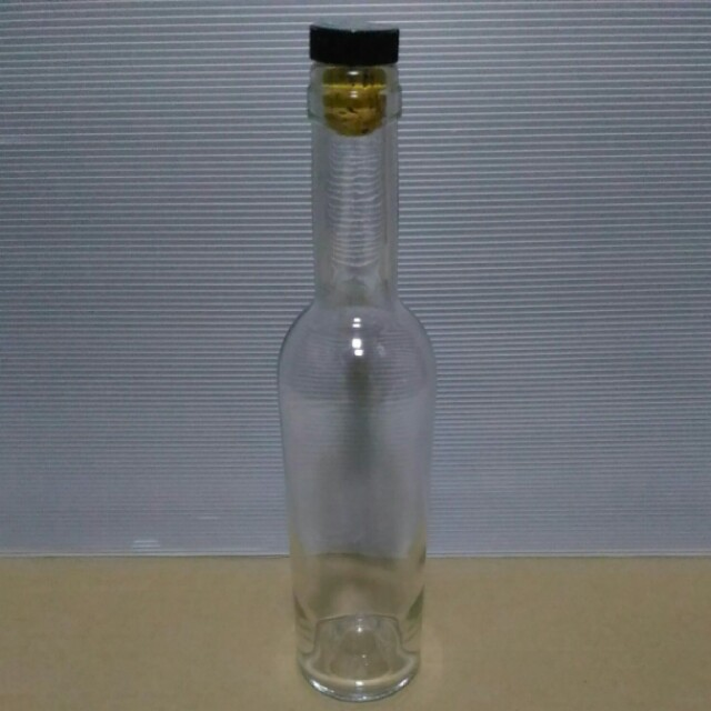 Empty Bottle with Cork Stopper, 375ml