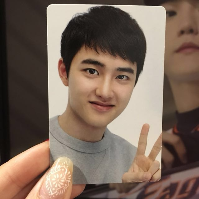 EXO D.O. ELYXION LIMITED PHOTOCARD