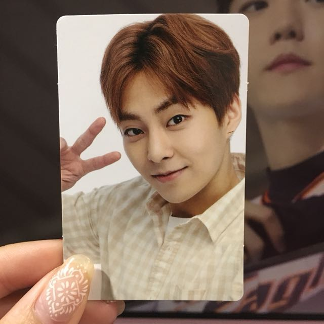 EXO XIUMIN ELYXION LIMITED PHOTOCARD