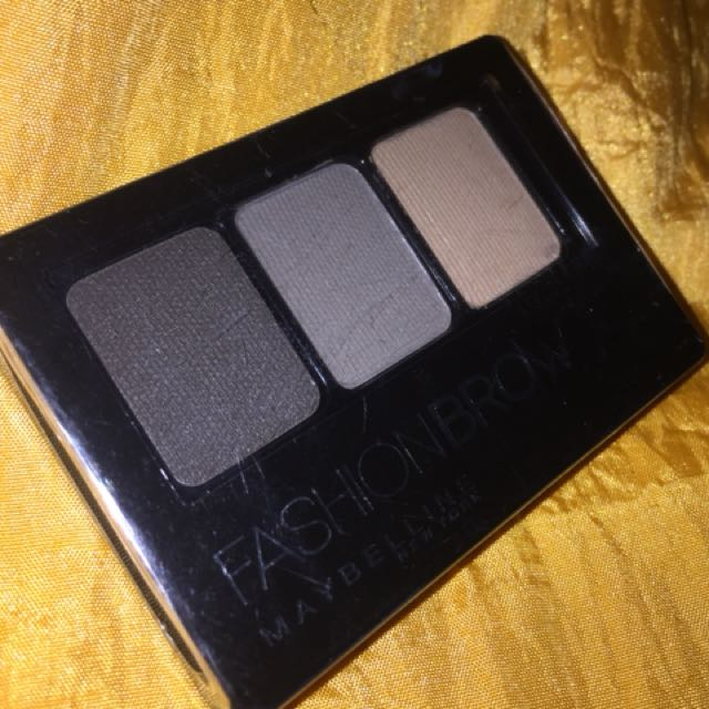 FASHION BROW MAYBELLINE | Warna Gray