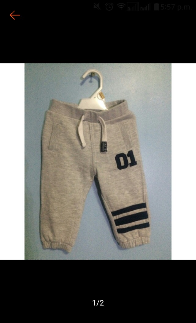 F&F jogging pants for baby boy