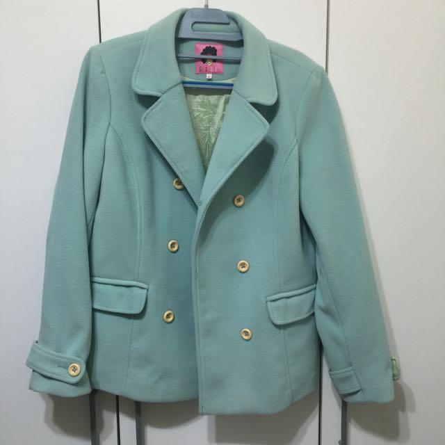 FFFF    全新藍綠色外套