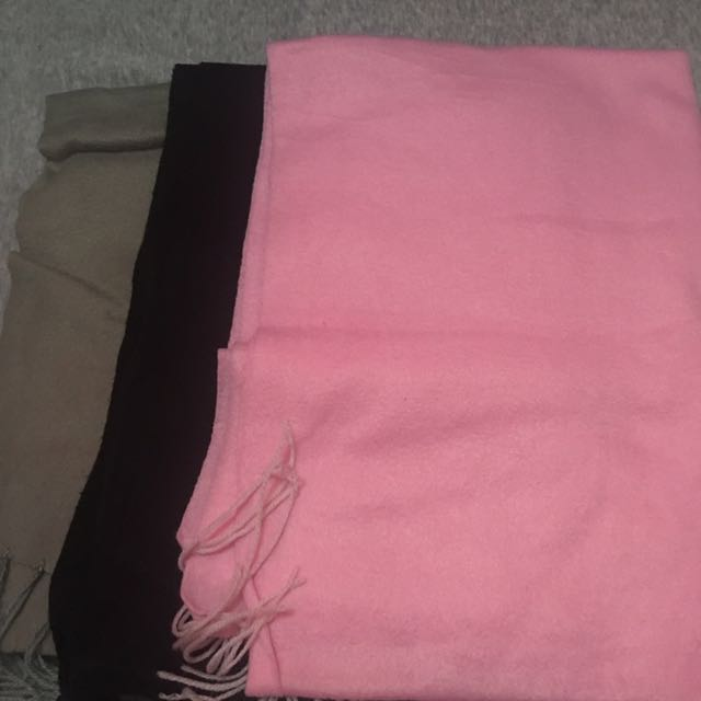 Fleece scarf / winter scarf