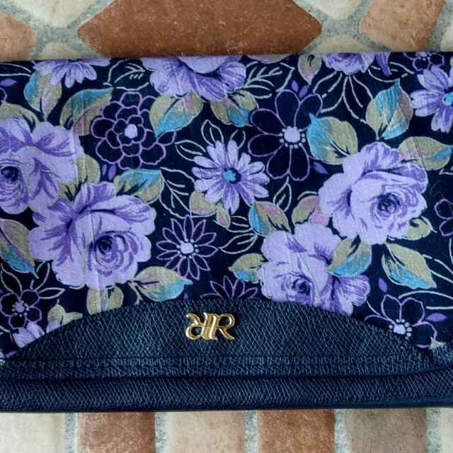 Floral clutch bag from Japan