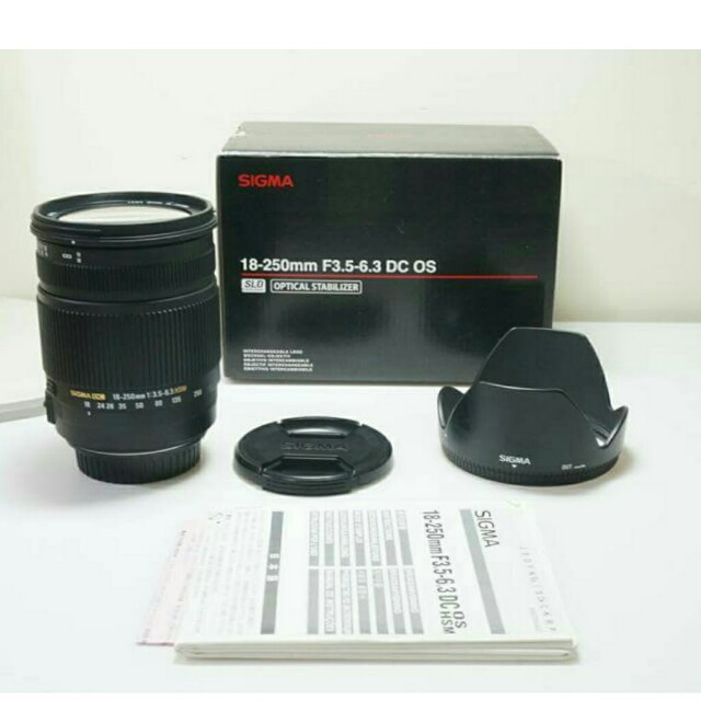 (for Canon) Sigma DC 18-250mm OS HSM