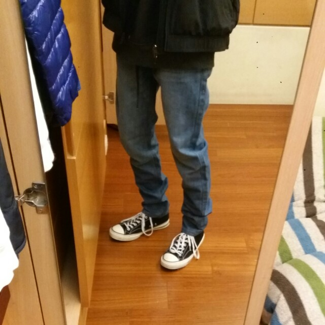 (全新)Forever21牛子褲