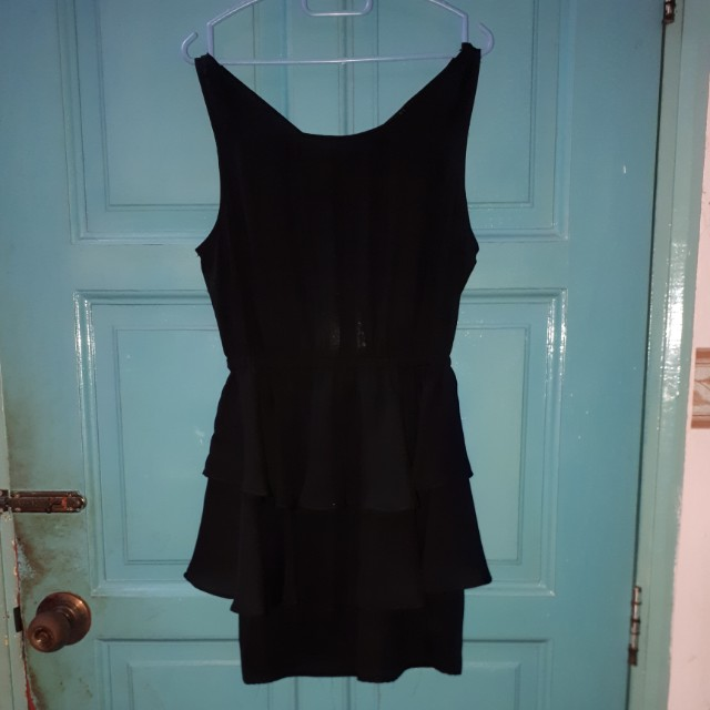 Forever21 sexy bck black dress