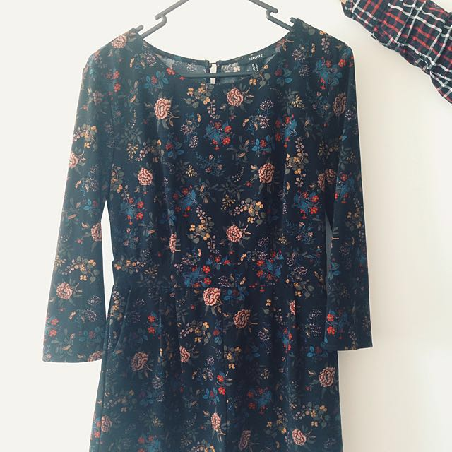 Forever 21 Floral Playsuit