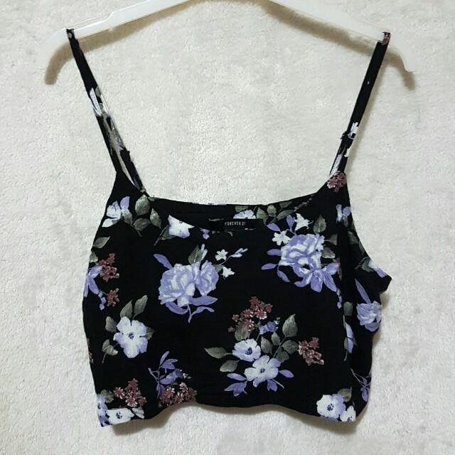 Forever 21 floral sleeveless