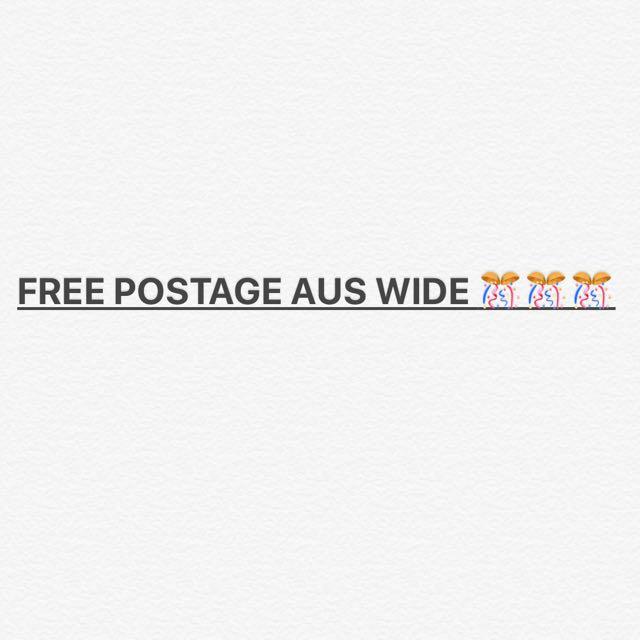 Free postage!