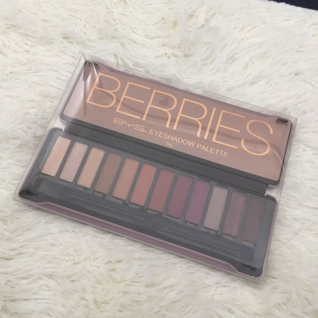 FREE SHIPPING - BYS Berries Eyeshadow Palette