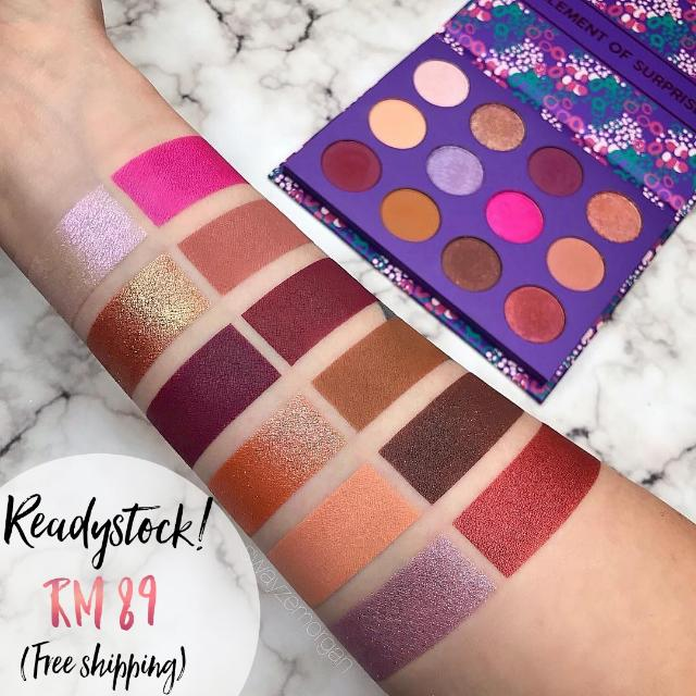 (FREE SHIPPING) Readystock COLOURPOP Element Of Surprise Palette
