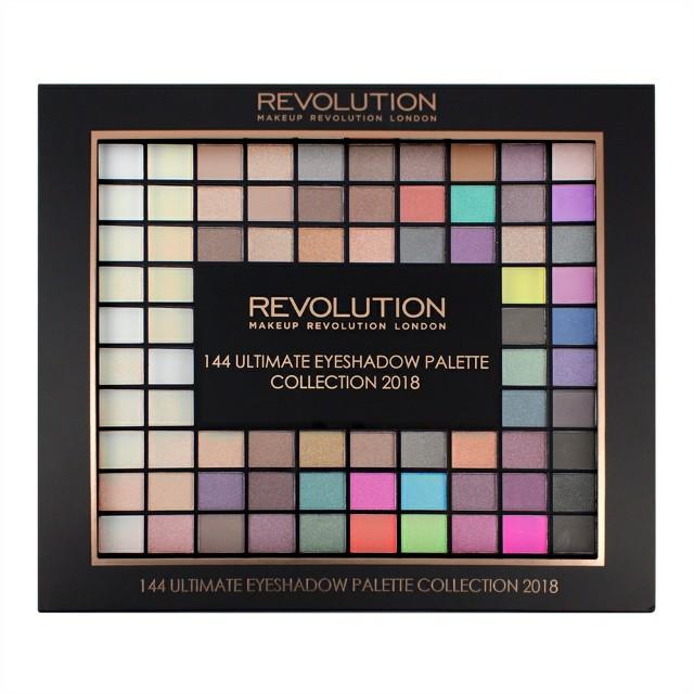 Freepos Makeup Revolution Ultimate 144 Eyeshadow Palette 2018