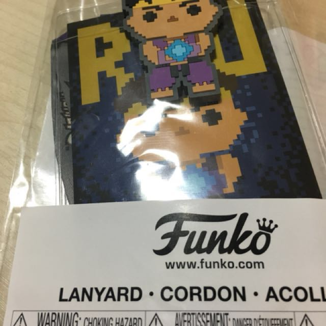 Funko Lanyard Ryu Chase Gamestop Exclusive Limited Edition Gift Collectible