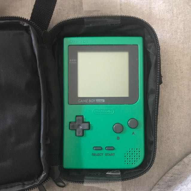 Game Boy Pocket (with Case And Games)