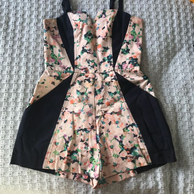 Ginger and smart playsuit size 6