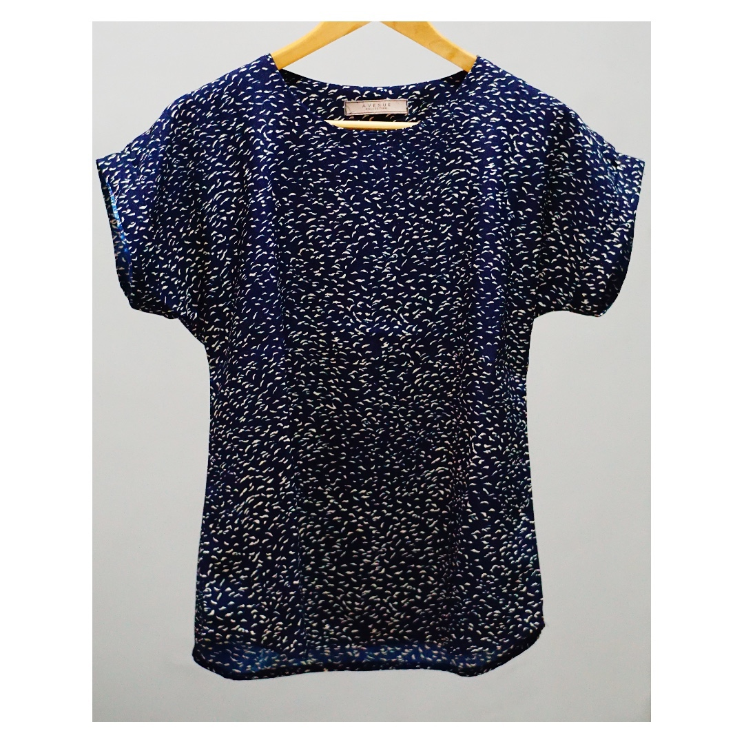 Gold Navy Shirt