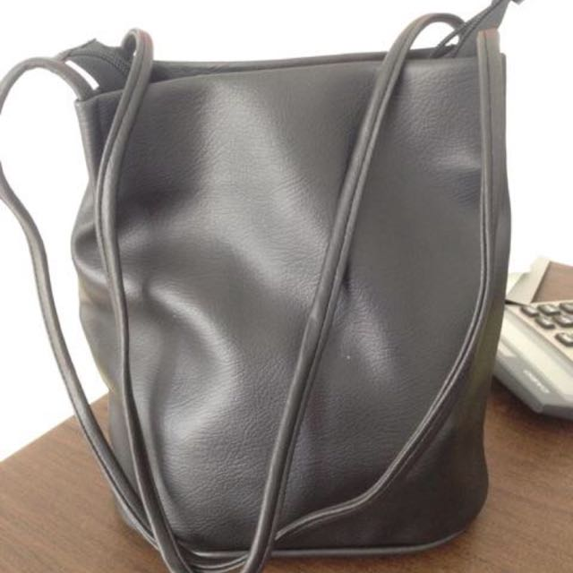 Grey Simple Bag