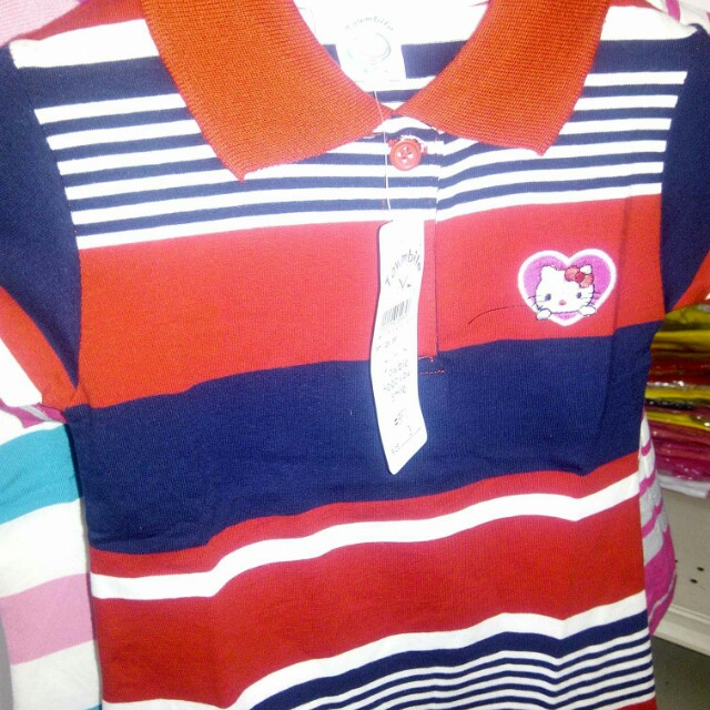 Hello kitty poloshirt
