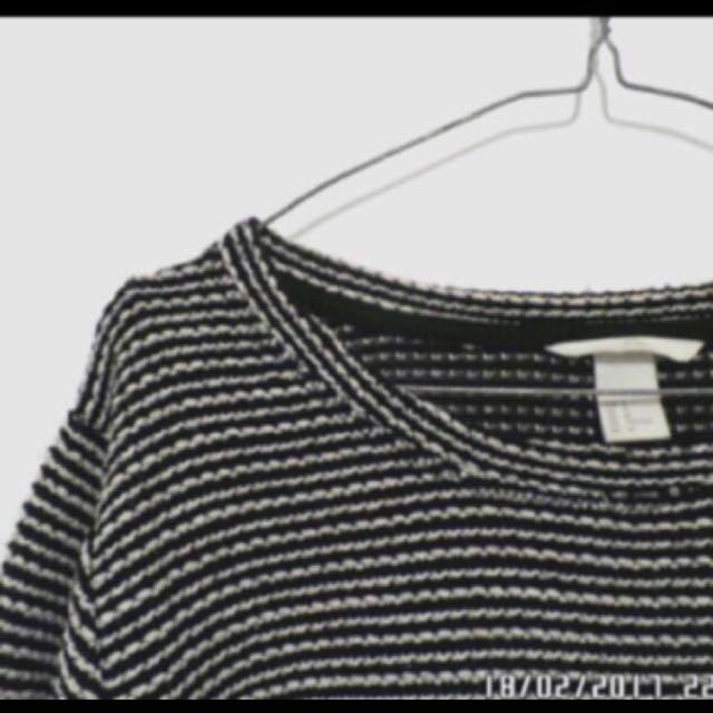 H&M sweatshirt rajut