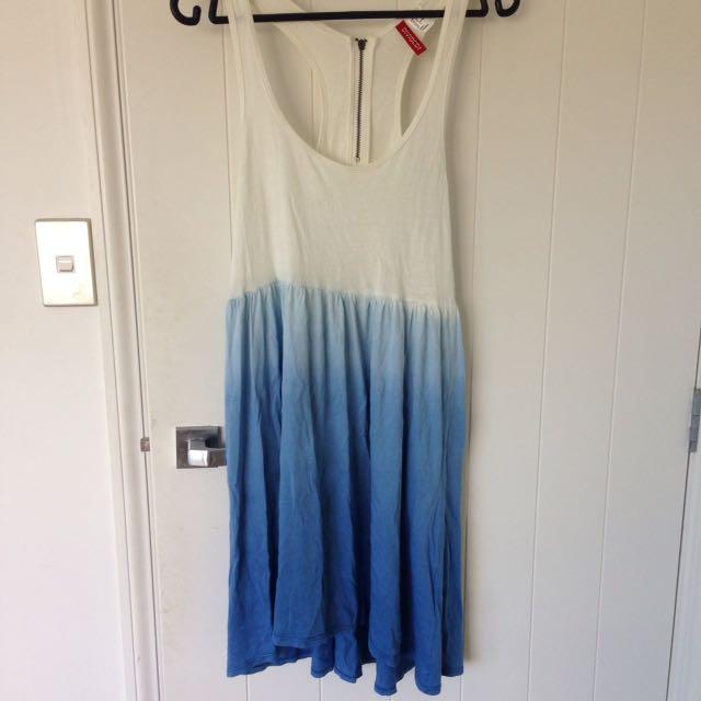 H&M two tone dress