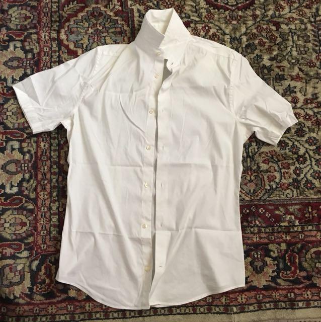 H&M White Polo Size: Small