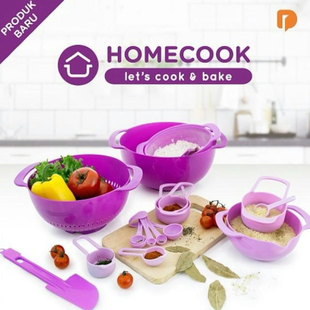 Home cook. Let's cook and bake