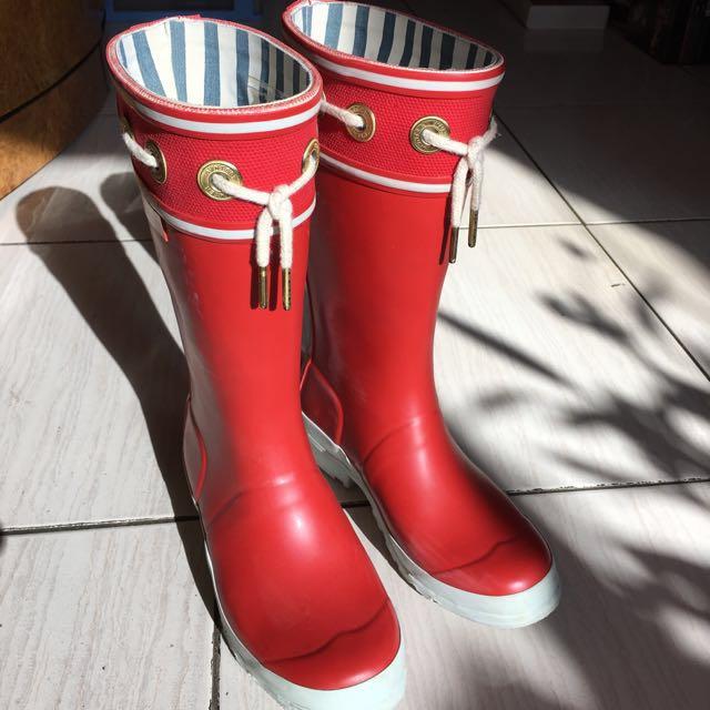 Hunter 雨靴 (雙色可愛童靴)
