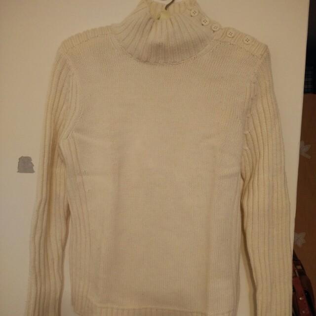 ICB 100%米白色毛衣