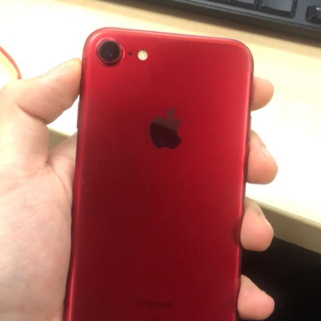 Iphone 7 128gb red edition my set